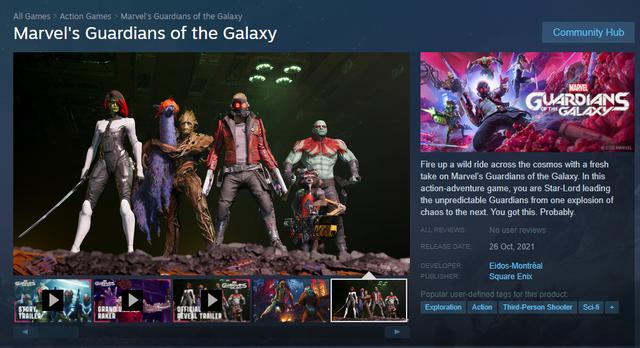 Marvels Guardians of The Galaxy đã có mặt trên Steam, hé lộ phát hành trong tháng sau - Ảnh 1.