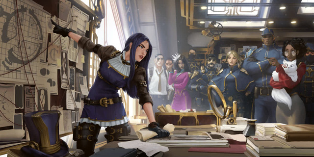 Riot Games vô tình hé lộ đợt nâng cấp hình ảnh cho Caitlyn khi giới thiệu Đấu Trường Chân Lý mùa 6 - Ảnh 6.