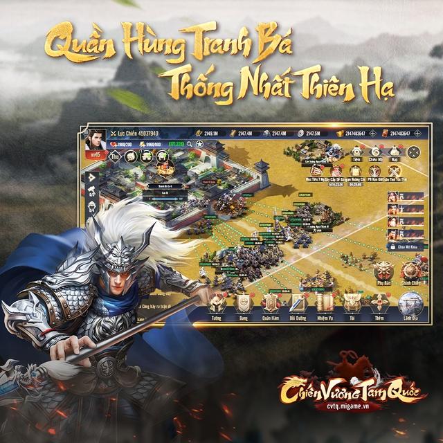 Tự do thể hiện bản lĩnh, tư duy chiến lược đỉnh cao trong game Chiến Vương Tam Quốc - Ảnh 2.