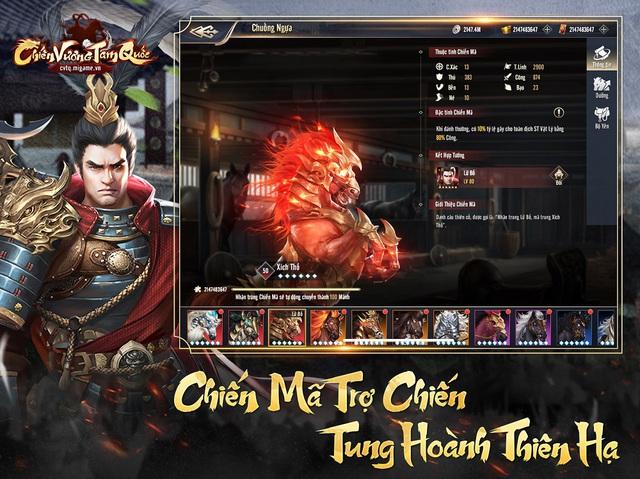 Tự do thể hiện bản lĩnh, tư duy chiến lược đỉnh cao trong game Chiến Vương Tam Quốc - Ảnh 6.
