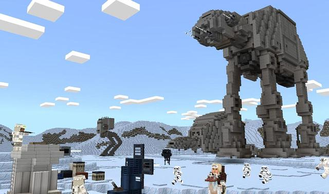 Nhóm game thủ công bố dự án tái tạo lại cả dải ngân hà Star Wars vào Minecraft - Ảnh 1.