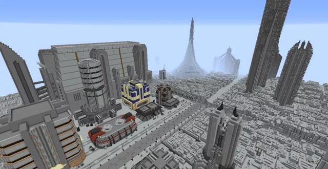 Nhóm game thủ công bố dự án tái tạo lại cả dải ngân hà Star Wars vào Minecraft - Ảnh 2.