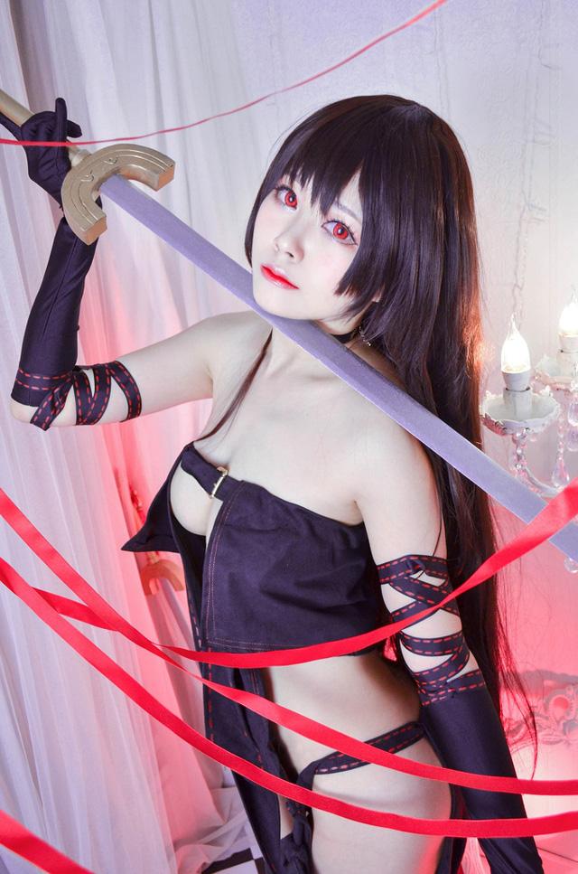 Xịt máu mũi ngắm nàng Ngu Cơ trong Fate/Grand Order vô cùng gợi cảm không thua bản gốc - Ảnh 2.