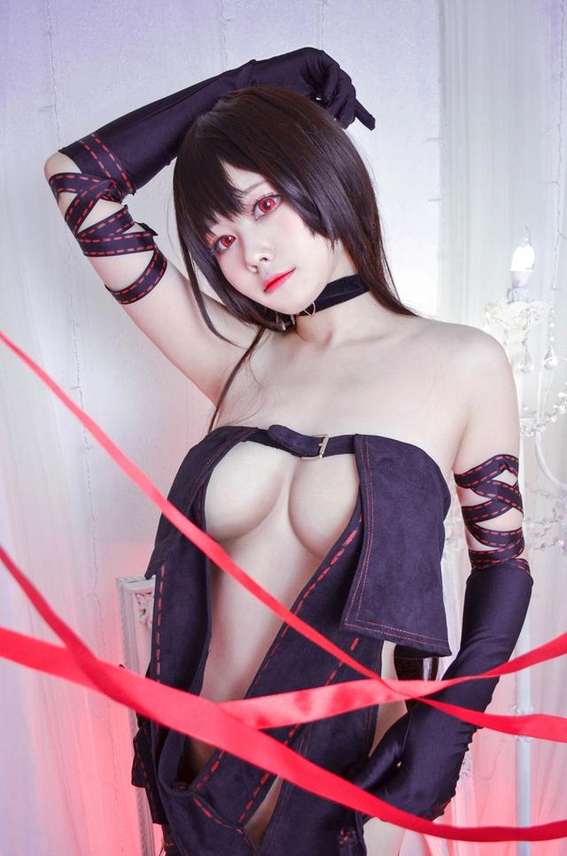 Xịt máu mũi ngắm nàng Ngu Cơ trong Fate/Grand Order vô cùng gợi cảm không thua bản gốc - Ảnh 3.