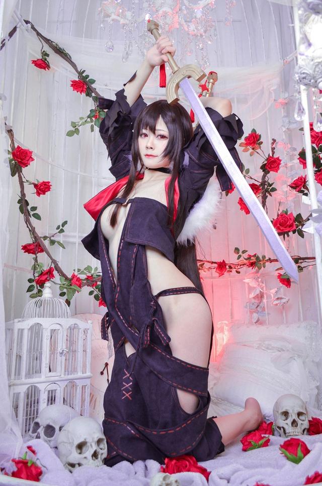 Xịt máu mũi ngắm nàng Ngu Cơ trong Fate/Grand Order vô cùng gợi cảm không thua bản gốc - Ảnh 7.