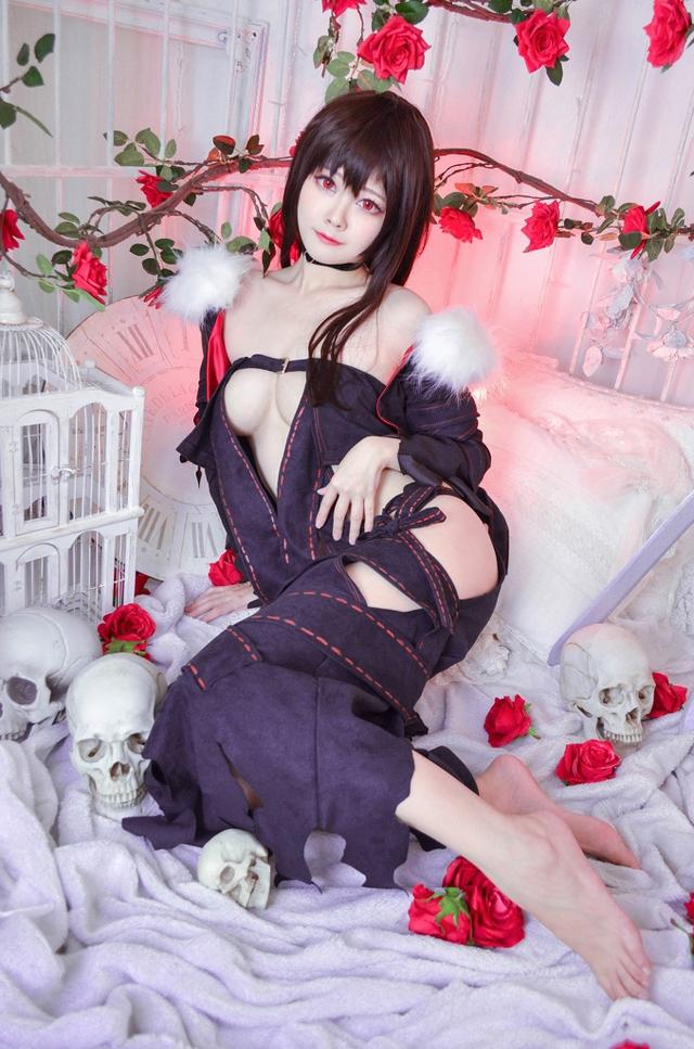 Xịt máu mũi ngắm nàng Ngu Cơ trong Fate/Grand Order vô cùng gợi cảm không thua bản gốc - Ảnh 13.