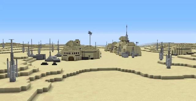 Nhóm game thủ công bố dự án tái tạo lại cả dải ngân hà Star Wars vào Minecraft - Ảnh 6.
