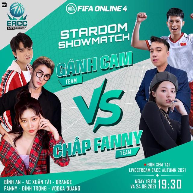 FIFA Online 4: Orange, Bình An, AC Xuân Tài, Fanny, Đình Trọng và Vodka Quang đại chiến trong ShowMatch cực đặc biệt - Ảnh 1.