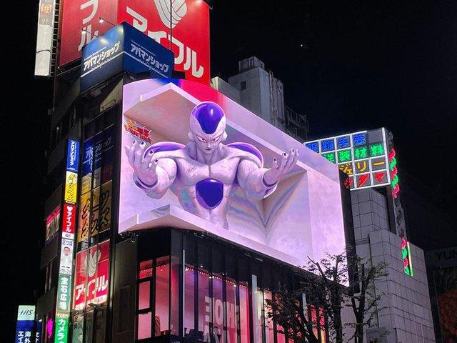 Dragon Ball: Frieza Đại Đế chuẩn bị xâm chiếm thành phố Tokyo với một phiên bản 3D sống động - Ảnh 1.