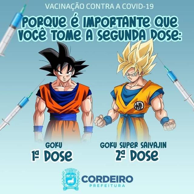 Dragon Ball :hình ảnh Son Goku được sử dụng trong việc tuyên truyền tiêm vắc xin COVID-1 Doa1-16305797921571783275264