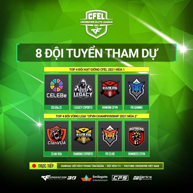 Khởi tranh Việt Nam CFEL 2021 Season 2 - Giải đấu hấp dẫn hơn với những điều chỉnh hợp lý! - Ảnh 3.