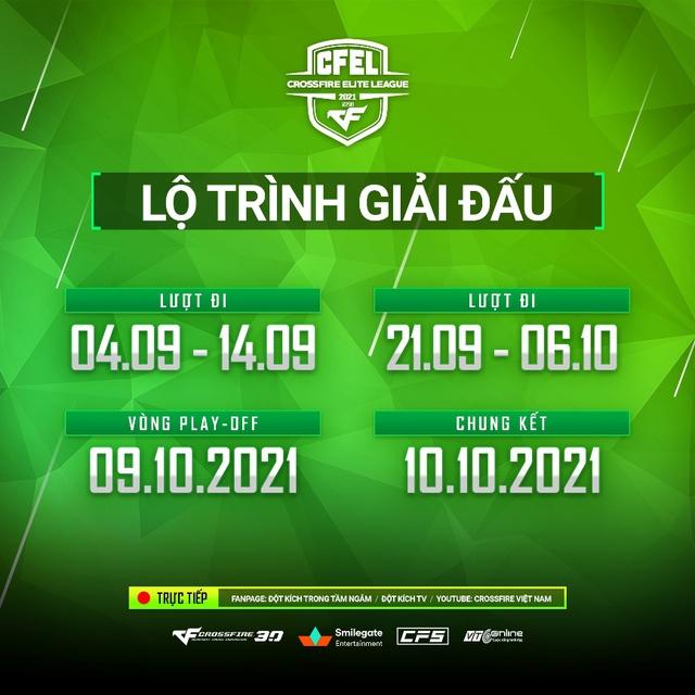 Khởi tranh Việt Nam CFEL 2021 Season 2 - Giải đấu hấp dẫn hơn với những điều chỉnh hợp lý! - Ảnh 4.
