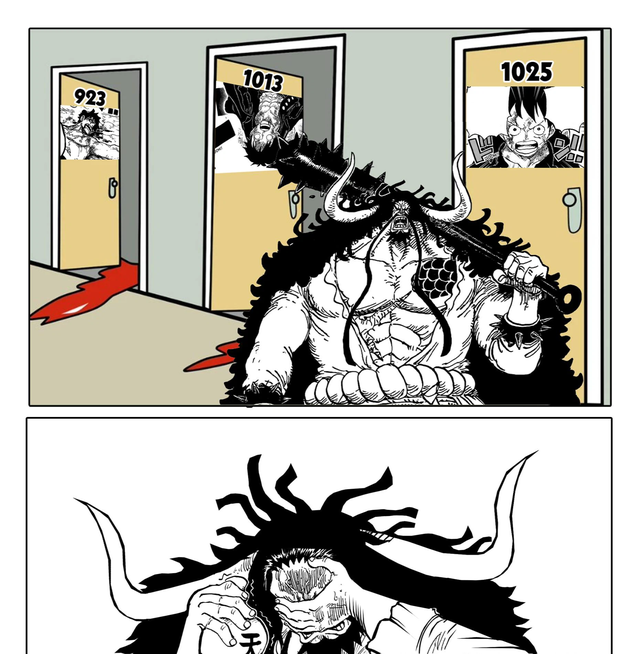 One Piece: Quá tam ba bận, để kẻ địch thoát chết 2 lần rất có thể Kaido sẽ bị đánh bại bởi Vua Lỳ Đòn Luffy - Ảnh 1.
