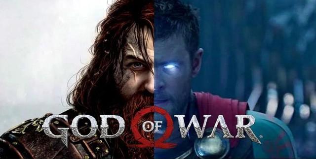 So sánh thần sấm Thor trong phim Marvel và God of War Ragnarok - Ảnh 1.