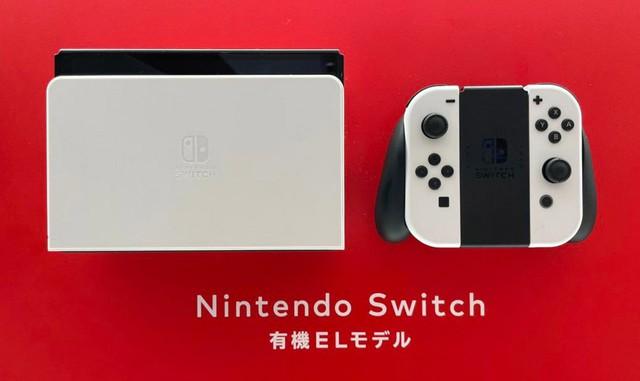 Hình ảnh đầu tiên của Nintendo Switch OLED mới, màn hình tuyệt đẹp - Ảnh 1.