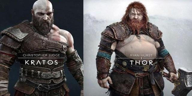 So sánh thần sấm Thor trong phim Marvel và God of War Ragnarok - Ảnh 3.