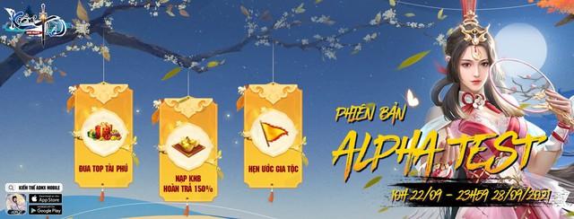 Kiếm Thế ADNX Mobile bùng nổ với loạt sự kiện tuyệt đỉnh dành tặng game thủ dịp Alpha Test - Ảnh 1.