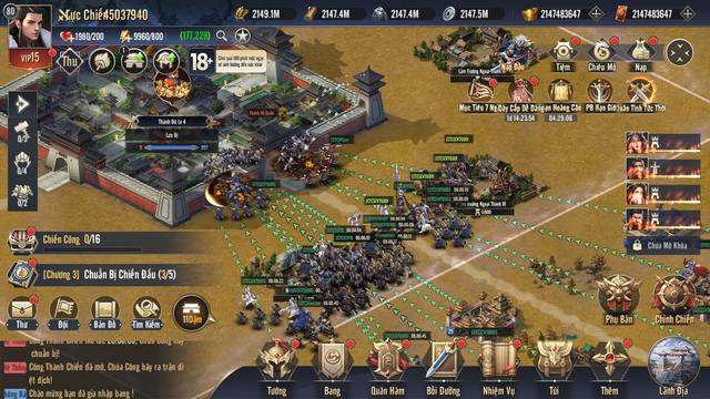 Công Thành Chiến: Một ngày đánh trận cả đời làm Vua trong game chiến thuật Chiến Vương Tam Quốc - Ảnh 2.