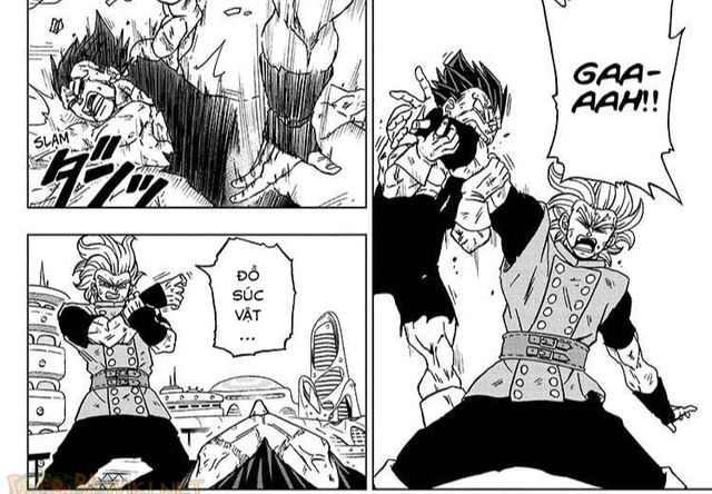 Top 5 hình ảnh ấn tượng trong Dragon Ball Super chap 76: Niềm kiêu hãnh của hoàng tử Saiyan, Vegeta muốn đồng quy vu tận với kẻ thù - Ảnh 3.