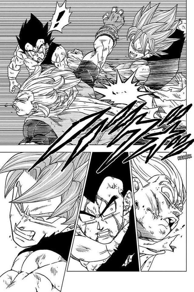 Top 5 hình ảnh ấn tượng trong Dragon Ball Super chap 76: Niềm kiêu hãnh của hoàng tử Saiyan, Vegeta muốn đồng quy vu tận với kẻ thù - Ảnh 1.
