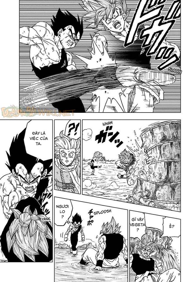Top 5 hình ảnh ấn tượng trong Dragon Ball Super chap 76: Niềm kiêu hãnh của hoàng tử Saiyan, Vegeta muốn đồng quy vu tận với kẻ thù - Ảnh 2.