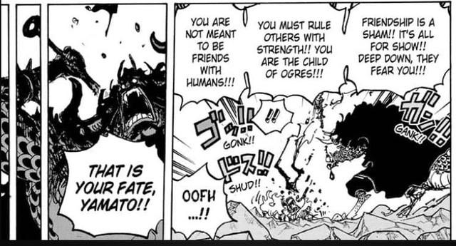 Soi các chi tiết trong One Piece 1025: Cha con Kaido tương tàn, cách Tứ Hoàng dạy con cũng quá nhẫn tâm (P.1) - Ảnh 8.