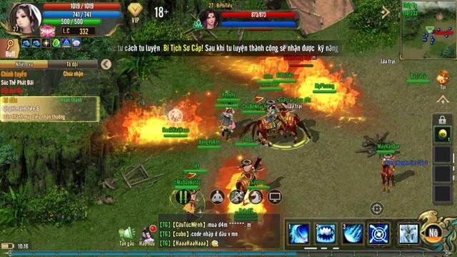 """Không khí game thủ Kiếm Thế ADNX Mobile ngày khai màn Alpha Test - Đông tới mức """"người nhiều hơn quái"""" - Ảnh 7."""