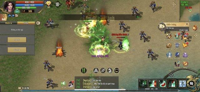 """Không khí game thủ Kiếm Thế ADNX Mobile ngày khai màn Alpha Test - Đông tới mức """"người nhiều hơn quái"""" - Ảnh 4."""