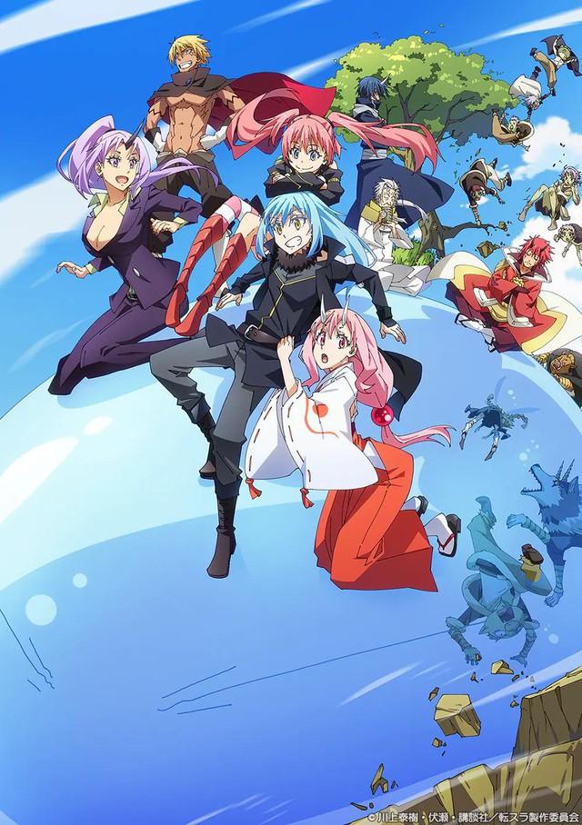 Siêu phẩm Chuyển Sinh Thành Slime công bố anime movie mới, hẹn khán giả giữa năm 2022 - Ảnh 2.