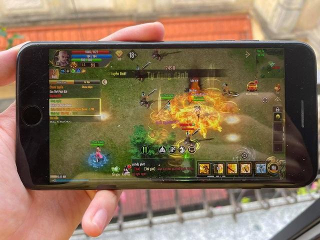 """Trên tay Kiếm Thế ADNX Mobile phiên bản iOS, tin mừng là máy từ đời """"Tống Kim"""" cũng có thể chơi mượt mà - Ảnh 8."""