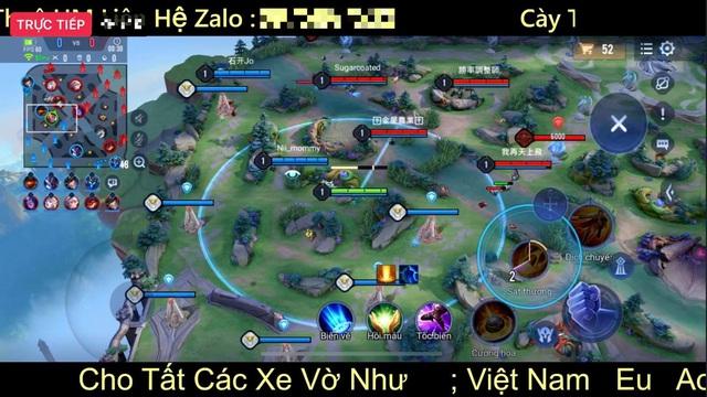 Livestream hack map phiên bản mới Liên Quân, người xem khủng hơn cả Bé Chanh, bình luận thách thức Garena - Ảnh 3.