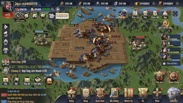Chiến Vương Tam Quốc sở hữu lối chơi chiến thuật chuẩn mực không pha tạp - Ảnh 7.