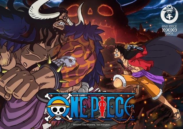 Anime One Piece tập 1000 phát sóng giữa tháng 11, trailer Sword Art Online đạt triệu view chỉ sau 5 ngày - Ảnh 1.