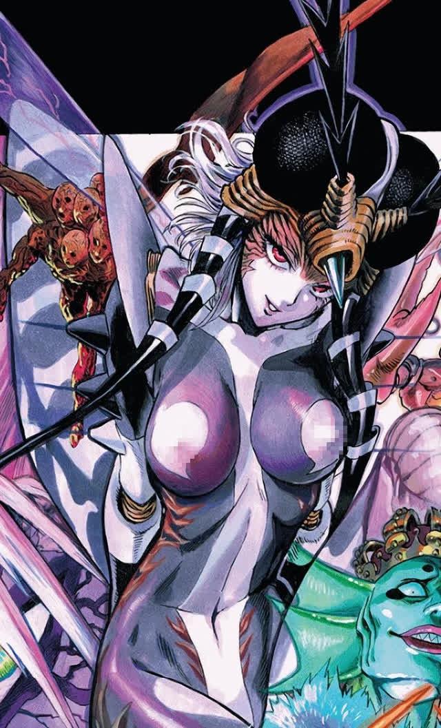 Những nữ ác nhân có tạo hình đẹp lung linh trong One Punch Ma Photo-2-1632562790855151527120-16325629384111514558746