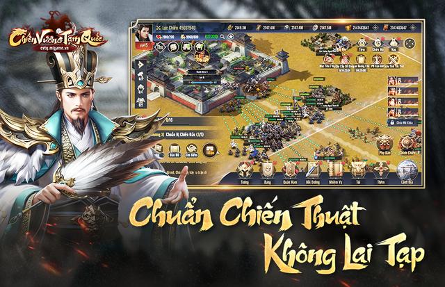 Chiến Vương Tam Quốc sở hữu lối chơi chiến thuật chuẩn mực không pha tạp - Ảnh 1.