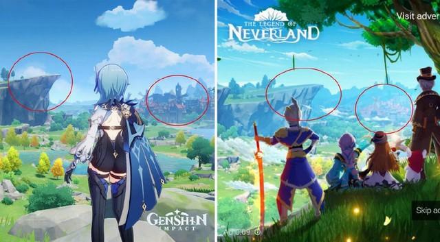 So sánh Genshin Impact và phiên bản nhái rẻ tiền The Legend of Neverland - Ảnh 1.