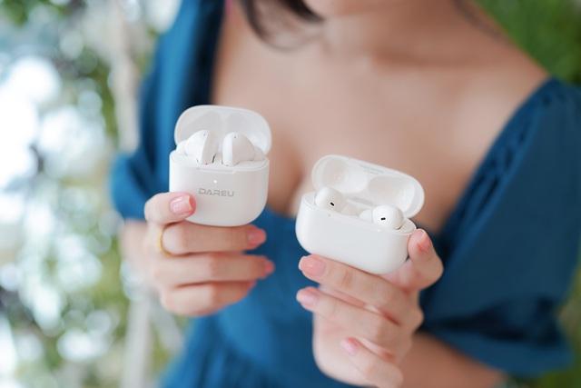 Cặp đôi tai nghe True Wireless siêu ngon cho anh em game thủ: DareU D2 & D5 - Ảnh 1.