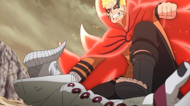 Boruto tập 217: Naruto trong Chế độ Baryon đấu tay đôi với Isshiki Photo-6-16327330012602094856363