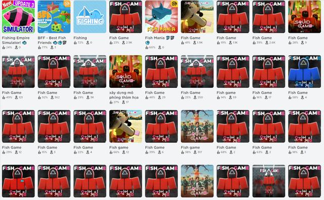 Xuất hiện hàng loạt trò chơi mô phỏng bộ phim Squid Game đình đám, liệu bạn sẽ sống sót được bao nhiêu vòng? - Ảnh 2.