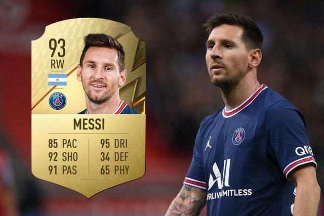 """Top 100 cầu thủ mạnh nhất trong FIFA 22, Lionel Messi vẫn """"vô đối"""" - Ảnh 1."""