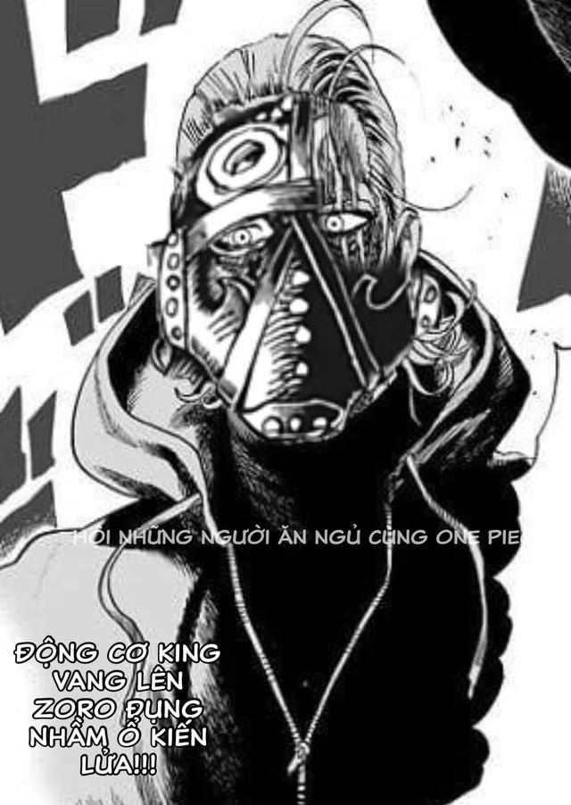 Các fan One Piece bất ngờ gọi tên nhân vật này trong One Punch Man sau khi King Hỏa Hoạn bị phá vỡ mặt nạ - Ảnh 2.