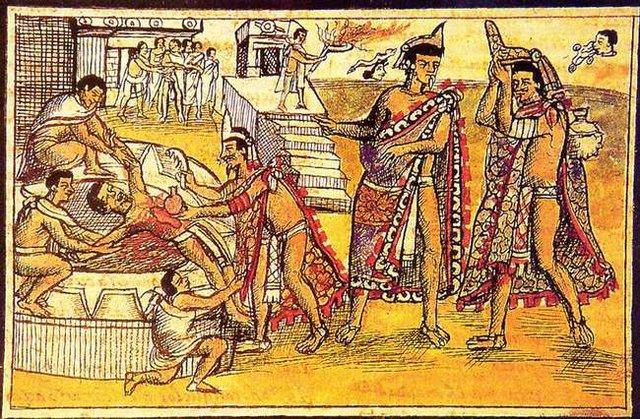 Những câu chuyện bạo lực và đẫm máu trong thần thoại Aztec cổ -1630648680587999820838
