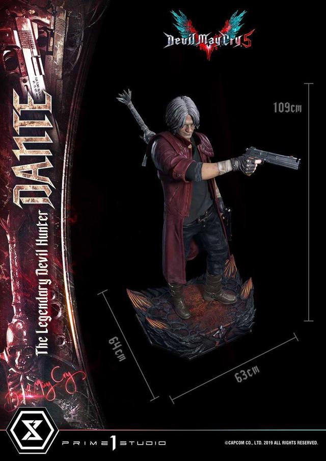 Bức tượng của Dante trong Devil May Cry có giá lên tới 97 triệu VNĐ - Ảnh 2.