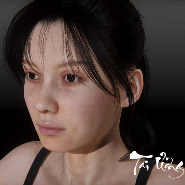 Revealing the main female character in Disaster, 100% pure Vietnamese horror game - Photo 3.