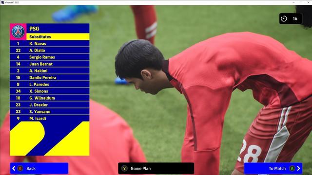 Tổng hợp loạt ảnh khiếp hồn trong eFootball 2022 - Ảnh 2.