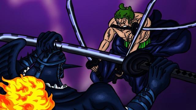 Chứng kiến cảnh Zoro bị King liên tiếp bón hành, các fan One Piece lo lắng cho số phận của con cưng - Ảnh 2.