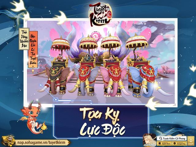 Refresh tới bến với bản cập nhật tháng 9 từ Tuyệt Kiếm Cổ Phong, tặng 1000 Giftcode + 3 triệu Bạc - Ảnh 2.