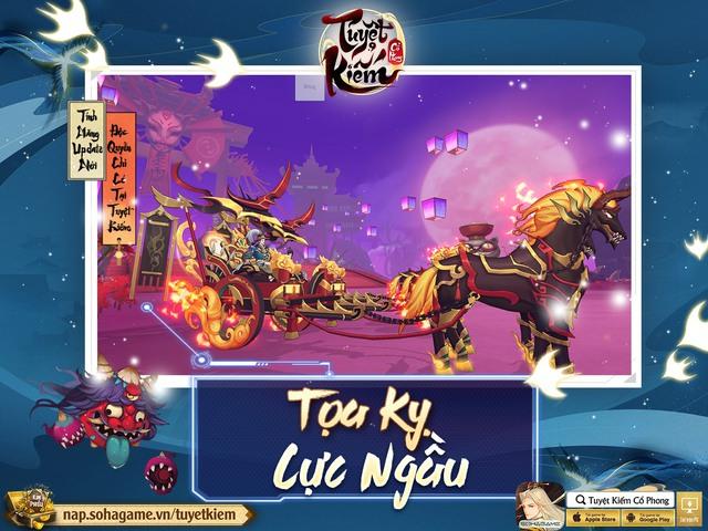Refresh tới bến với bản cập nhật tháng 9 từ Tuyệt Kiếm Cổ Phong, tặng 1000 Giftcode + 3 triệu Bạc - Ảnh 3.