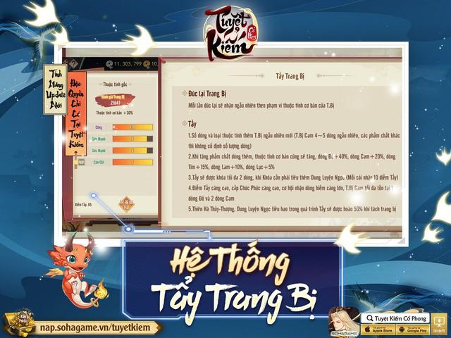 Refresh tới bến với bản cập nhật tháng 9 từ Tuyệt Kiếm Cổ Phong, tặng 1000 Giftcode + 3 triệu Bạc - Ảnh 12.