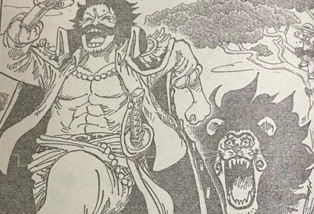 One Piece chap 1027: Zoro suýt bị đánh văng khỏi đảo Oni, King bị chém nửa bên mặt - Ảnh 1.